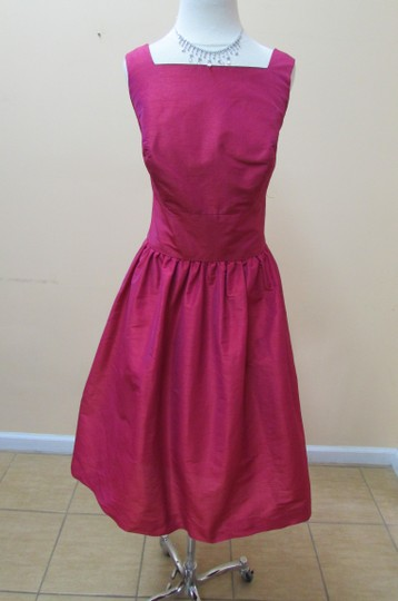 Alfred Sung Sangria D518 Formal Bridesmaid/Mob Dress Size 10 (M)