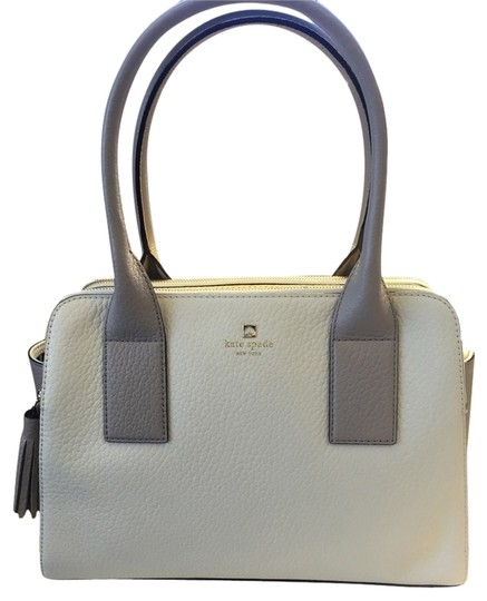 Preload https://item2.tradesy.com/images/kate-spade-southport-avenue-lydia-cream-and-grey-leather-shoulder-bag-3174676-0-0.jpg?width=440&height=440