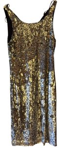 Zara Sequin Fitted Party Glitter Date Dress