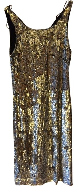 Preload https://item4.tradesy.com/images/zara-sequin-fitted-party-dress-silver-3175483-0-0.jpg?width=400&height=650