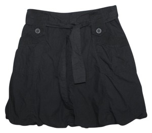 Urban Outfitters Machine Washable Bubble Skirt Black
