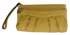 Elle Wristlet in Yellow/Mustard