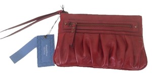 Vera Wang Wristlet in Red/Rustic