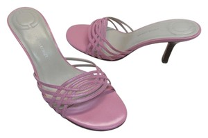 Casual Corner Excellent Condition Leather pink Sandals