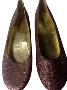 Paris Blues Multi shiny Flats