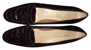 Salvatore Ferragamo Loafers Brown Flats