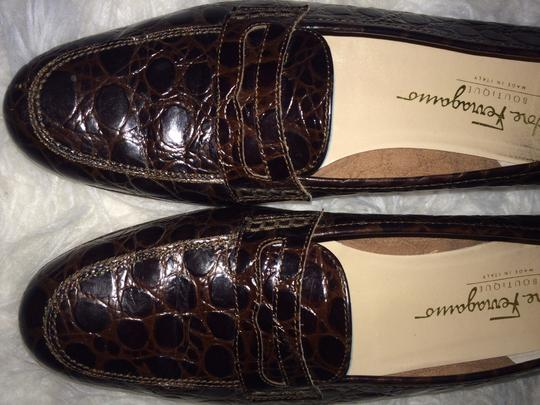 Salvatore Ferragamo Loafers Loafer Vintage Brown Flats