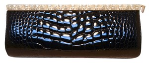 Barry Kieselstein-Cord Alligator Alligator black Clutch