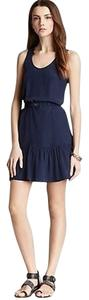 Joie short dress Dark Navy Sleeveless Shift Drop Waist on Tradesy