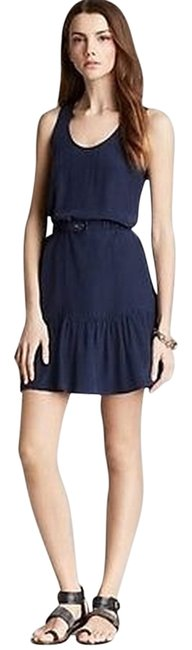 Preload https://item4.tradesy.com/images/joie-dark-navy-new-with-tag-blue-flounce-summer-above-knee-short-casual-dress-size-4-s-3177343-0-0.jpg?width=400&height=650