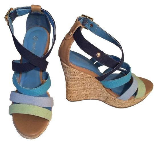 Preload https://item1.tradesy.com/images/diva-lounge-multi-blues-and-green-wedges-size-us-8-regular-m-b-3177445-0-0.jpg?width=440&height=440