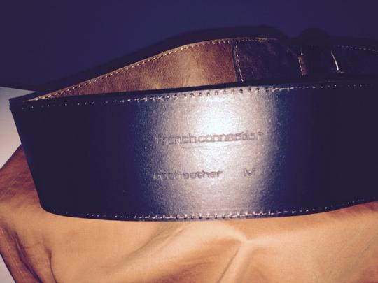 French Connection Leather loop belt
