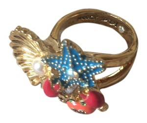 Betsey Johnson Under the Sea Betsey Johnson Costume Ring