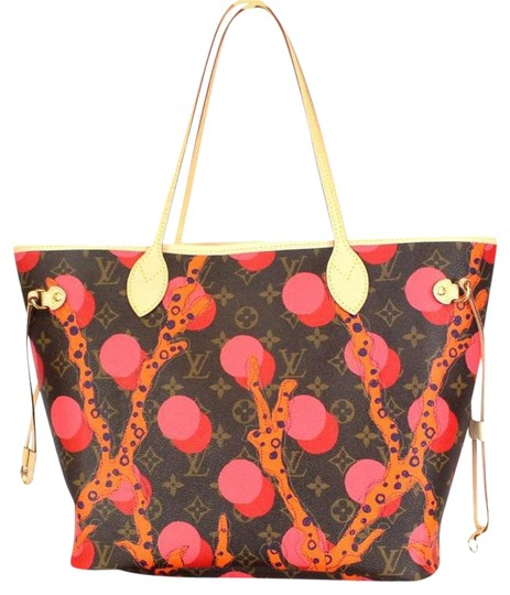 Louis Vuitton Murakami Sprouse Graffiti Roses Kusama Shoulder Bag