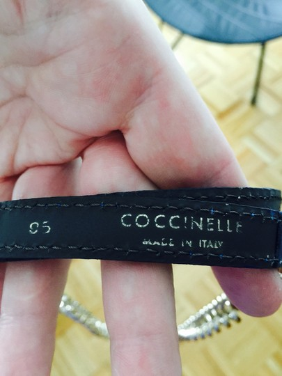 Coccinelle Chain And Leather Belt