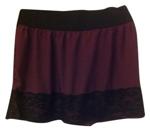 Stooshy Skirt Plum/Black