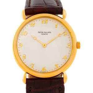 Patek Philippe Patek Philippe Calatrava 18k Yellow Gold Vintage Mens Watch 3820