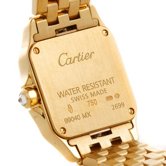 Cartier Cartier Santos Demoiselle Ladies 18k Yellow Gold Diamond Watch Wf9001Y7