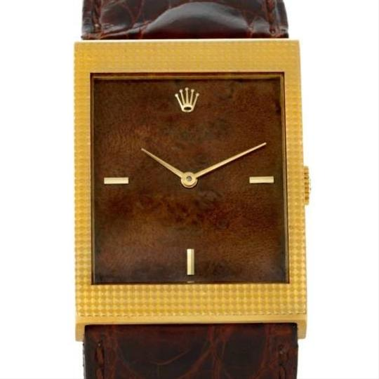 Preload https://item2.tradesy.com/images/other-rolex-cellini-18k-yellow-gold-wooden-dial-vintage-watch-4127-3180091-0-0.jpg?width=440&height=440