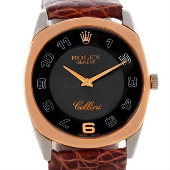 Rolex Rolex Cellini Danaos 18k White And Rose Gold Watch 4233