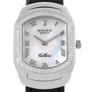 Rolex Rolex Cellini Cellissima White Gold Diamond Ladies Watch 6691 Unworn