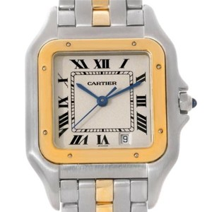 Cartier Cartier Panthere Steel 18k Yellow Gold Watch W25028b5