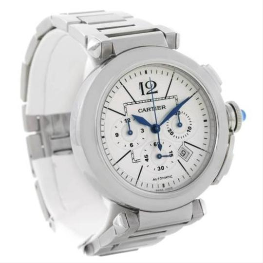 Cartier Cartier Pasha Mm Chrono Mens Watch W31085m7 Unworn