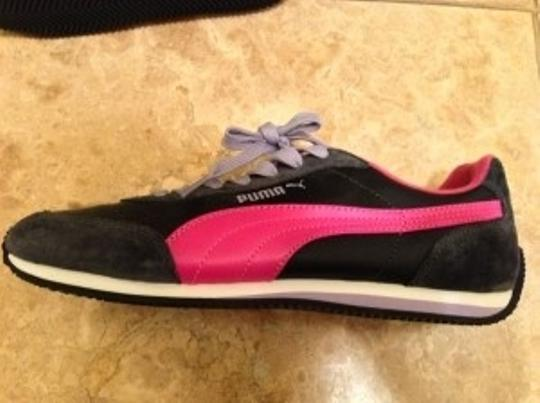 Puma Gray and Pink Athletic