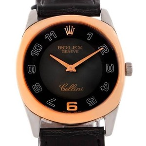 Rolex Rolex Cellini Danaos 18k White Rose Gold Watch 4233
