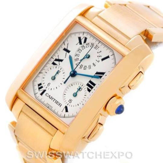 Cartier Cartier Tank Francaise Chronograph 18k Yellow Gold Watch W50005R2