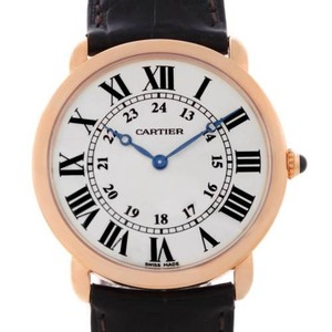 Cartier Cartier Ronde Louis 18k Rose Gold Mens Watch W6800251