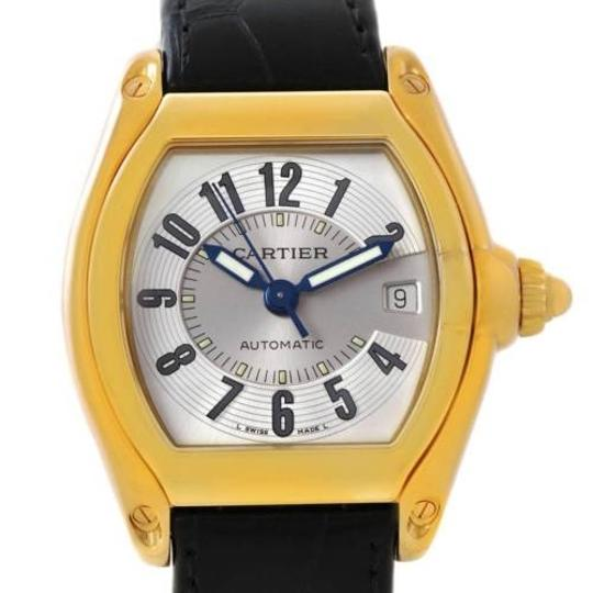 Preload https://item1.tradesy.com/images/cartier-silver-roadster-mens-18k-yellow-gold-w62005v2-watch-3180250-0-0.jpg?width=440&height=440