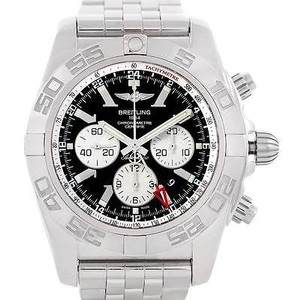 Breitling Breitling Chronomat Gmt Steel Mens Watch AB0410 - item med img