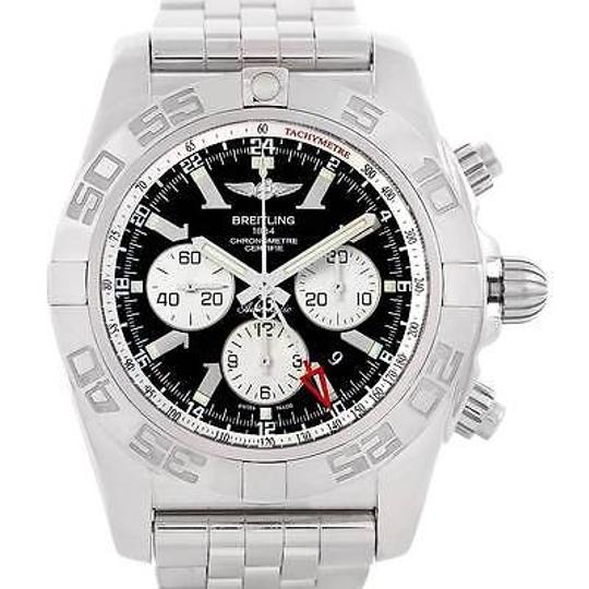 Preload https://img-static.tradesy.com/item/3180268/breitling-black-chronomat-gmt-steel-mens-ab0410-watch-0-0-540-540.jpg