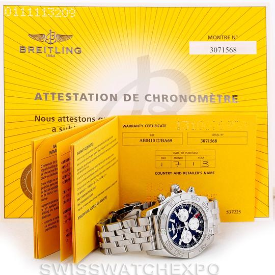 Breitling Breitling Chronomat Gmt Steel Mens Watch AB0410 Image 11