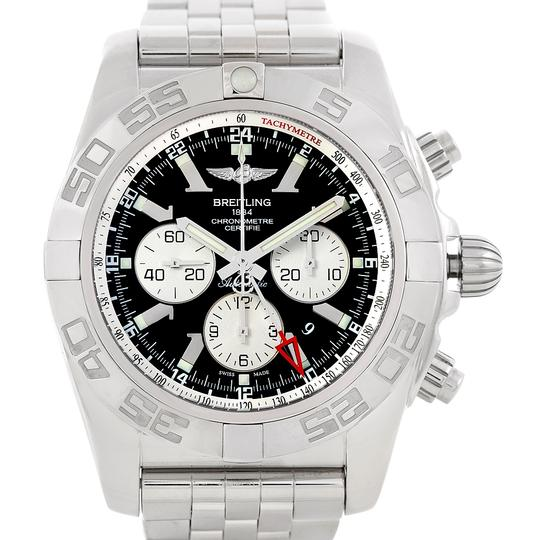 Breitling Breitling Chronomat Gmt Steel Mens Watch AB0410 Image 3