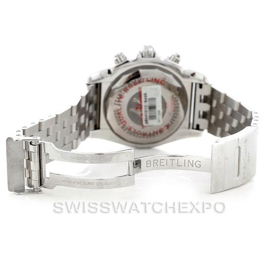 Breitling Breitling Chronomat Gmt Steel Mens Watch AB0410 Image 5