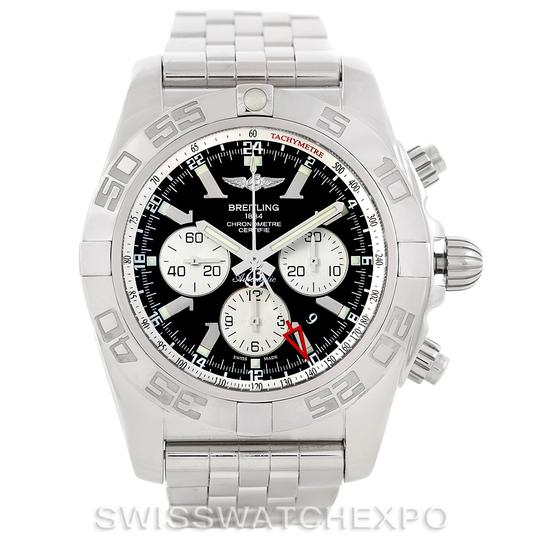 Breitling Breitling Chronomat Gmt Steel Mens Watch AB0410 Image 7