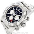 Breitling Breitling Chronomat Gmt Steel Mens Watch AB0410 Image 8