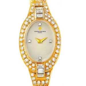 Vacheron Constantin Vacheron Constantin 18k Yellow Gold Diamond Vintage Cocktail Watch