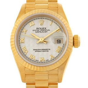 Rolex Rolex President Ladies 18k Yellow Gold Watch 69178
