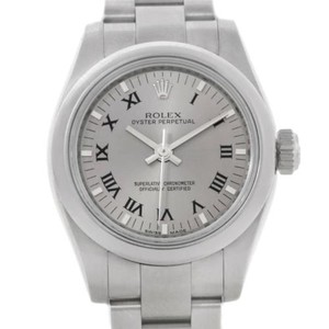 Rolex Rolex Oyster Perpetual Nondate Ladies Steel Watch 176200
