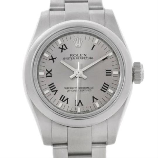 Preload https://item3.tradesy.com/images/rolex-rolex-oyster-perpetual-nondate-ladies-steel-watch-176200-3180337-0-0.jpg?width=440&height=440