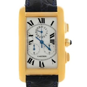 Cartier Cartier Tank Americaine Chronograph 18k Yellow Gold Watch W2601156