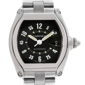 Cartier Cartier Roadster Mens Steel Black Dial Watch W62004v3