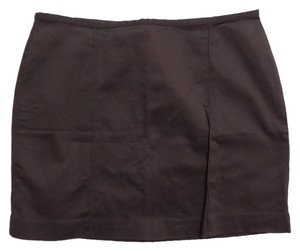 Old Navy Mini Skirt Brown