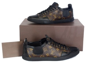 7defe822a5b Louis Vuitton Brown Slalom Lv Monogram Leather and Canvas Mens Sneakers  Size US 9.5 Regular (M, B) 36% off retail