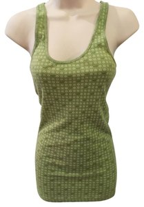 Hollister Top Green Patterned