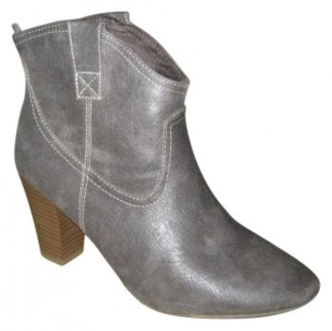 Item - Grey Boots/Booties Size US 8 Regular (M, B)