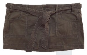 Abercrombie & Fitch Mini Skirt Brown